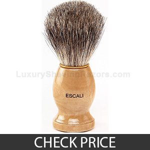 Escali 100% Pure Badger Shaving Brush, no drip stand included