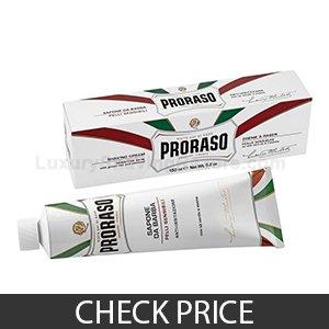 Proraso White Line Shaving Cream - Best Pick For Sensitive Skin