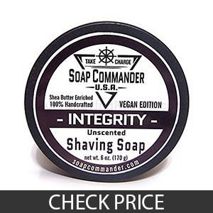 Soap Commander Unscented Shaving Soap