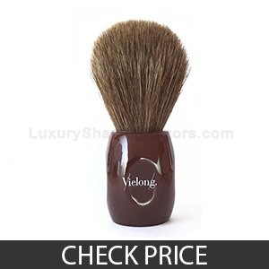 Best Horse Hair Shaving Brush - Vie-Long 12705 Horse Hair Shaving Brush, no Drip Stand Included