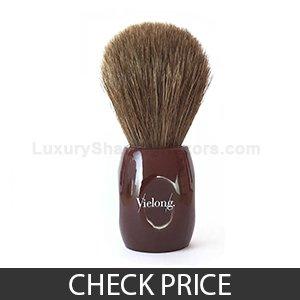Best Horse Hair Shaving Brush - Vie-Long 12705 Horse Hair Shaving Brush, no Drip Stand Included
