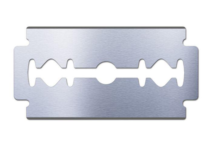 Double-edge safety razor blade