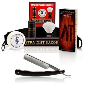 "Dovo 5/8"" half hollow straight razor kit"