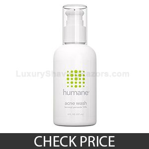 Humane Benzoyl Peroxide 10% Acne Treatment Body & Face Wash