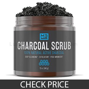 M3 Naturals Premium Activated Charcoal Scrub