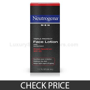 Neutrogena Men Triple Protect Face Lotion With Sunscreen