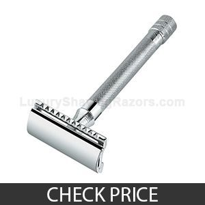 Merkur Classic 3-Piece Double Edge Safety Razor