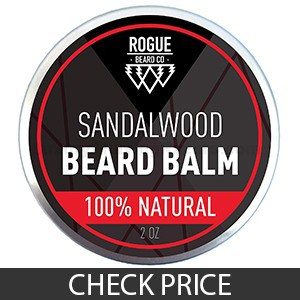 Natural Beard Balm Sandalwood Leave-In Conditioner
