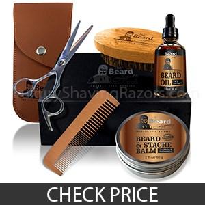 Beard Legacy Men's Grooming Kit - Best Travel Beard Grooming Kit