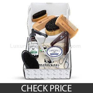 BeardClass Beard Grooming Set- Best Beard Grooming Kit With Scissors