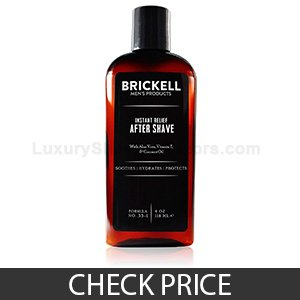 Brickell Instant Relief Aftershave for Men
