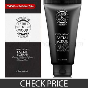 Lather and Wood Best Face Wash for Men - Good Value