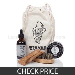 Wizard Grooming Beard Care Kit - Money-back Guarantee