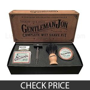 Gentleman Jon Complete Wet Shave Kit