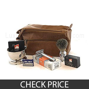Merkur Deluxe Travel Dopp Kit