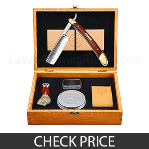 Naked Armor Straight Razor Shaving Kit