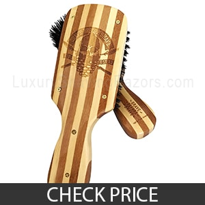 Grave Before Shave Beard Brush - Best Animal-Friendly Beard Brush