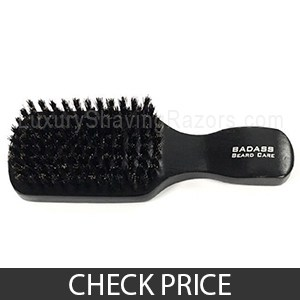 Badass Beard Care Beard Brush - Best Beard Brush For Long Beards