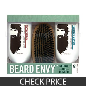 Billy Jealousy Beard Envy Kit - Best Beard Brush Kit