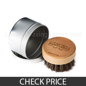 Can You HandleBar's Beard Brush - Best Beard Brush for Short and Thin Beards