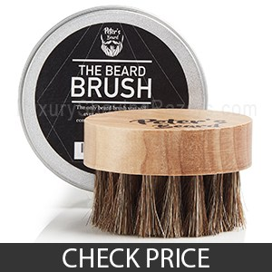 Peter's Beard Brush - Best Thin Beard Brush