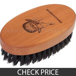 Seven Potions Beard Brush - Compact Beard Brush, Great Overall