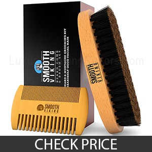 Smooth Viking Beard Brush - Great Beard Brush and Comb For Beginners