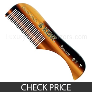 Kent 81T Pocket Comb for Beard and Mustache