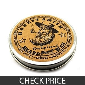 Honest Amish Original Beard Wax For Men