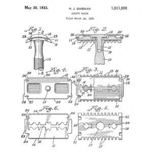 Safety Razor Patent